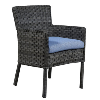 Lorca Outdoor Arm Chair - Union Pacific Fabric