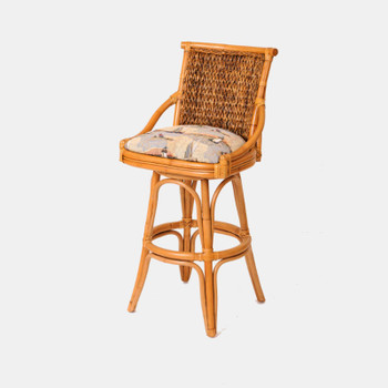 Balboa Barstool in Antique Honey finish