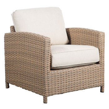 Lodge Outdoor Chair - Fife Ecru Fabric