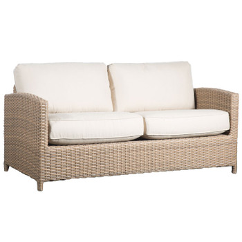 Lodge Outdoor Full Sofa - Fife Ecru Fabric
