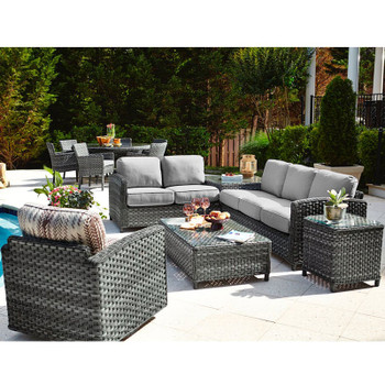Lorca Outdoor 5 pc. Sectional Set