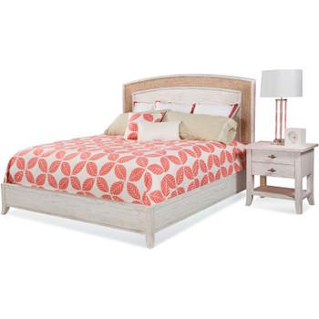 Fairwind 2pc Queen Seagrass Bedroom Set