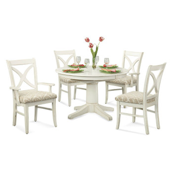 "Hues 5 pc 42"" Round Dining Set"