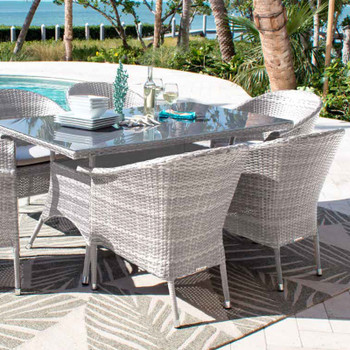 Santorini Outdoor Dining Set