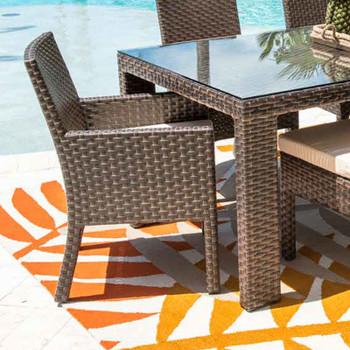 Samoa Outdoor Dining Stackable Armchair