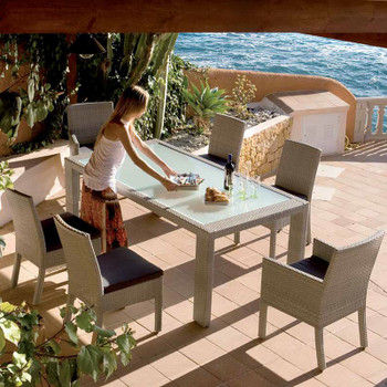 Cubix Outdoor Dining Collection