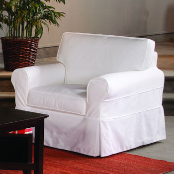 Bedford Lounge Chair with Slipcover