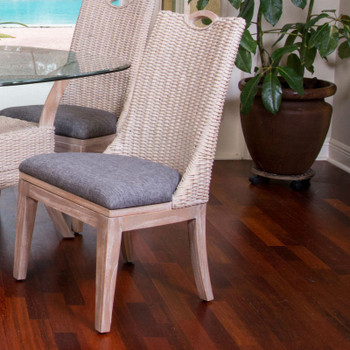 Belize Dining Chair in Rustic Driftwood finish