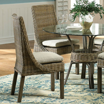 Exuma 6 Piece Dining Set with Glass