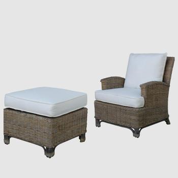 Exuma Lounge Chair and Ottoman Set