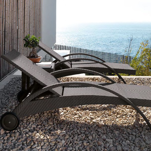 Atlantis Outdoor Chaise Lounge Set