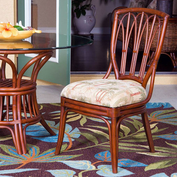 Cuba Dining Side Chair in Sienna finish