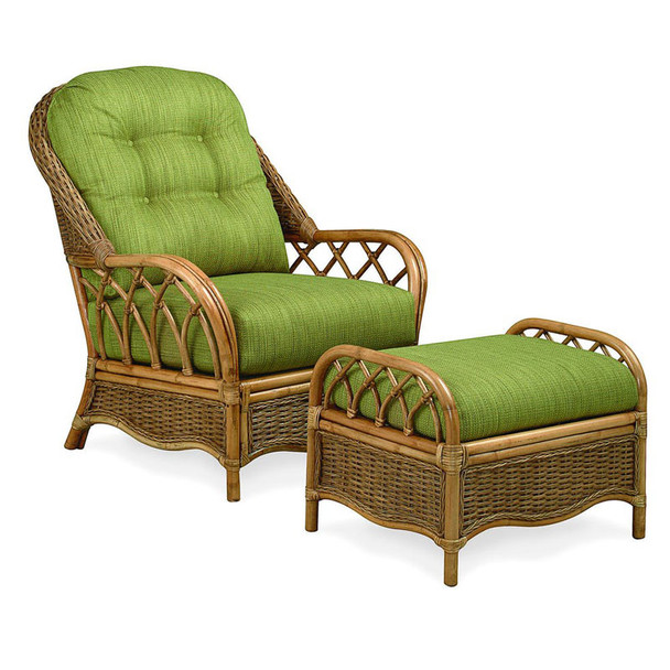 Everglade Chair and Ottoman