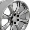 "22"" Fits Cadillac Escalade Chevy GMC Tahoe Silverado Sierra Yukon OEM Wheels Rims Chrome Set of 4 22x9 Hollander 5410"