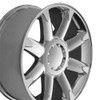 "20"" Fits GMC Denali Wheels Chrome Set of 4 20x8.5 Rims Hollander # 5304"