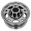 "16"" Fits Chevrolet  Chevy 2500 Suburban Silverado Wheels Polished Set of 4 16x6.5 Rims - Hollander 5079"