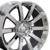 """20"""" Chrysler 300 SRT8 Charger Magnum Challenger Wheel Chrome Set of 4 20x9"""" Hollander 2253"""
