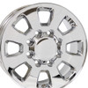 "18"" Fits Chevrolet GMC Sierra 2500/3500 8x165 Wheels Chrome Set of 4 18x8"" Rims"