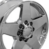 "20"" Fits Chevrolet Silverado GMC Wheels Chrome Set of 4 20x8.5 Rims"