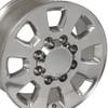 "18"" Fits Chevrolet GMC Sierra 2500 3500 Wheels 2011-18  Bolt Pattern: 8x180 Polished Set of 4 18x8"