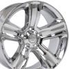"20"" Fits Dodge Ram 1500 Chrysler Durango Dakota Wheels Chrome Set of 4 20x9"" Rims Hollander 2267"