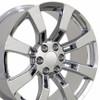 """20"""" Fits Cadillac Escalade Chevy GMC Wheel Chrome 20x8.5"""" Rim Limited Edit Rim-Hollander 5409"""