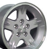 "15"" Fits Jeep - Wrangler Replica Wheel - Silver 15x8"