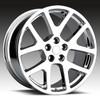 "20"" Fits Dodge Challenger Charger 300 SRT Magnum Viper Wheels Chrome Set of 4 20x9"""
