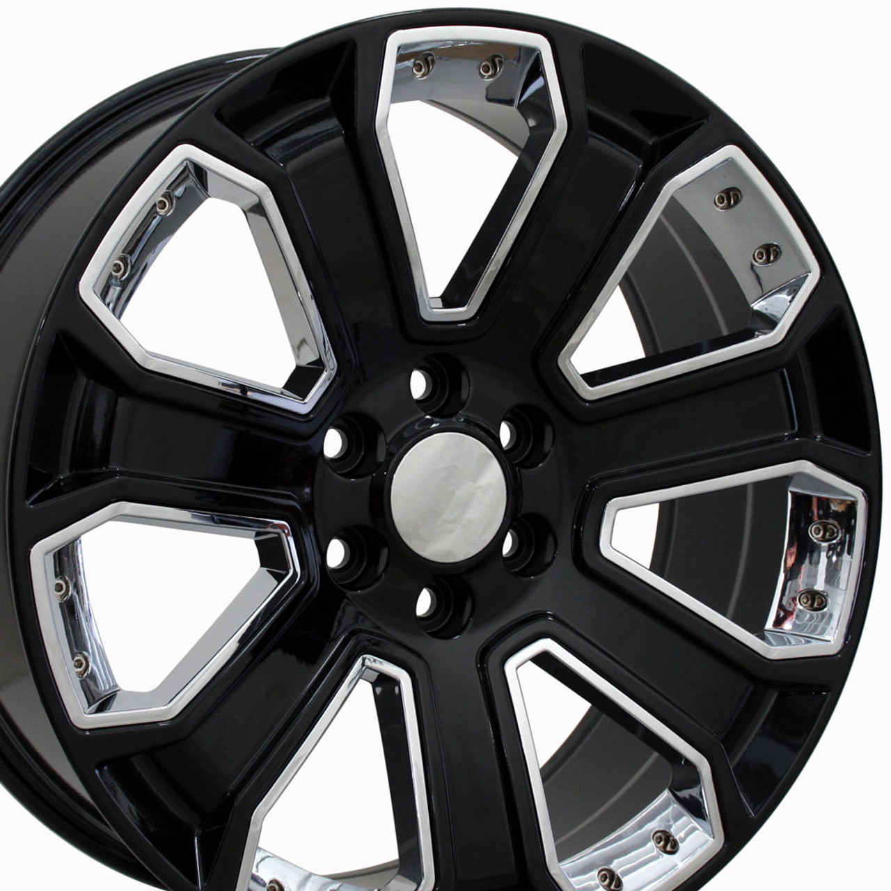 All Chevy black chevy rims : 22