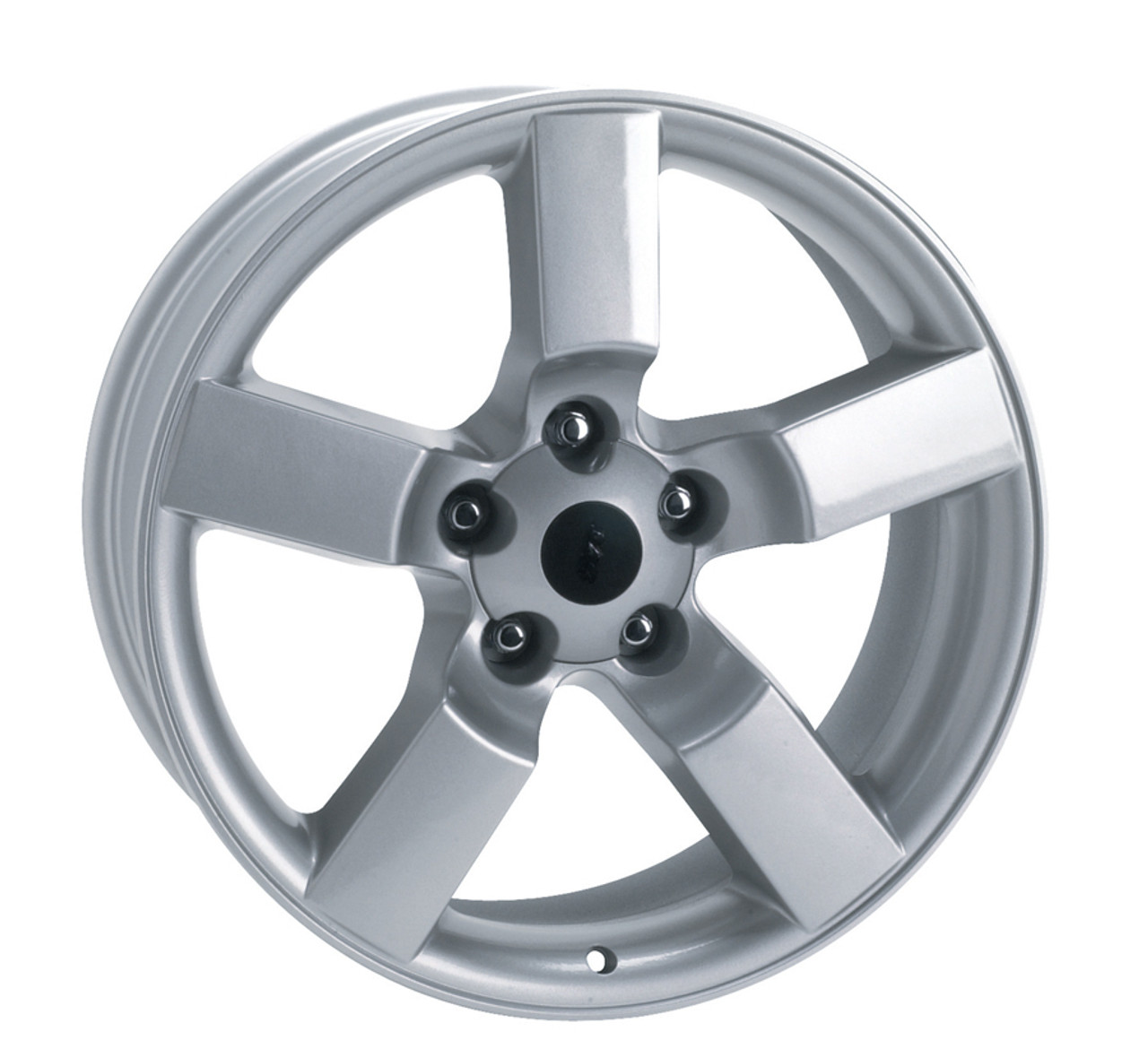 "18"" Ford Lightning Wheels Tires F150 SVT Style Silver Set ..."