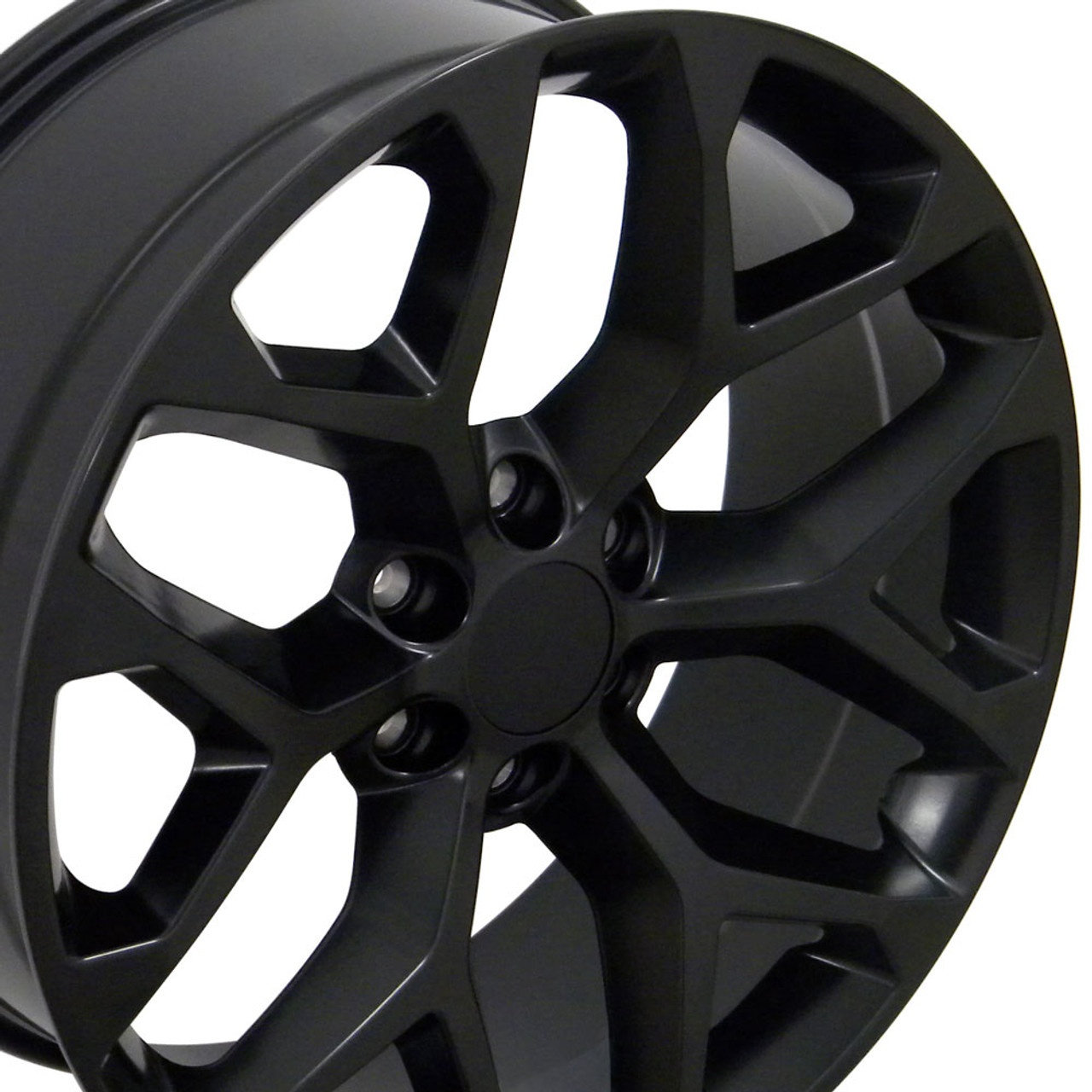 All Chevy black chevy rims : 20