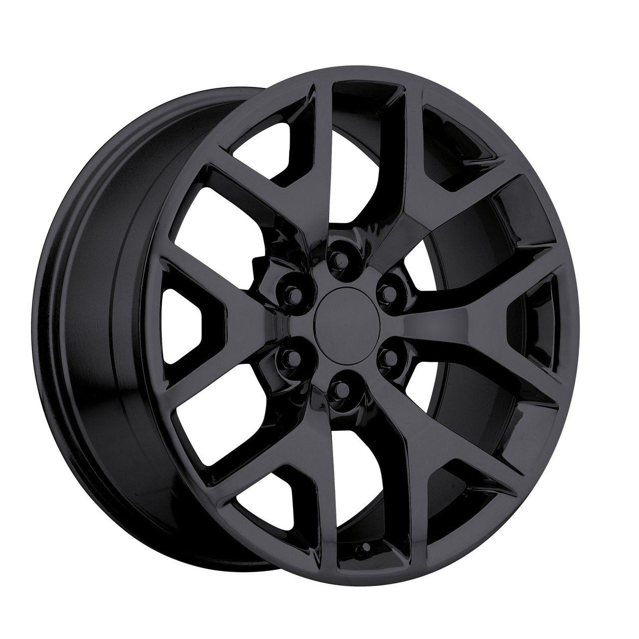 20 Quot 2014 Gmc Sierra Chevy 1500 Silverado Replica Wheels
