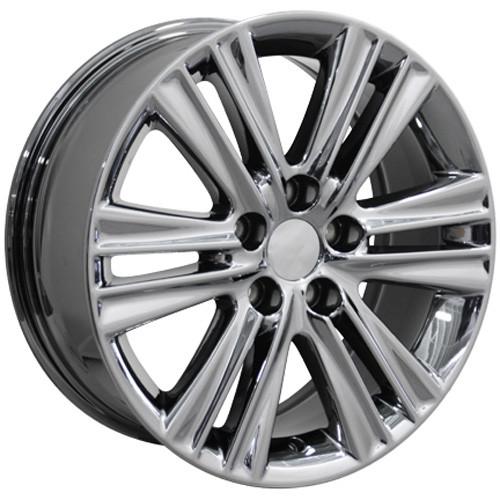 Lexus Es 350 Tires: 17'' Fits Lexus ES 350 Double Spoke Wheels PVD Chrome Set