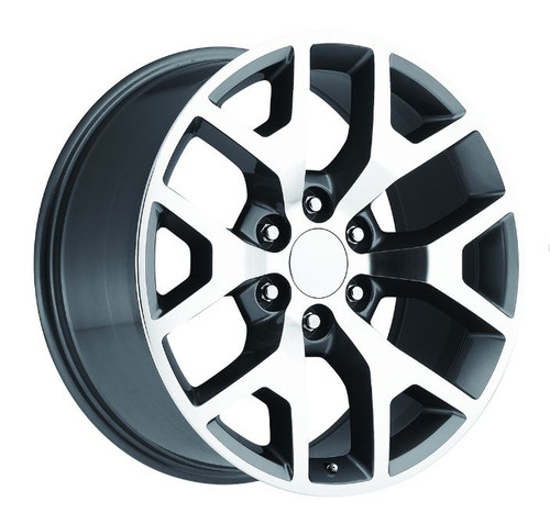 inch replica chrome usarim gmc denali wheels hollander chr rims