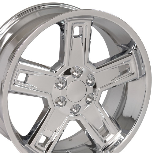 "22"" Fits Chevrolet 2015 Silverado Tahoe CK160 Wheels GMC Rims Deep Dish Chrome 22x9.5  Hollander # 5664"