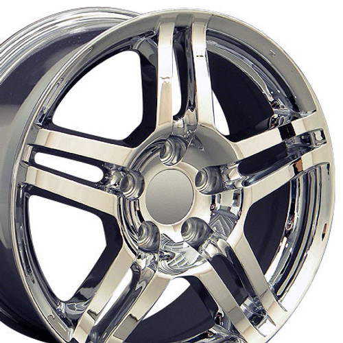 Fits Acura TL Wheel Chrome X Rim Hollander Stock - Acura tl rims