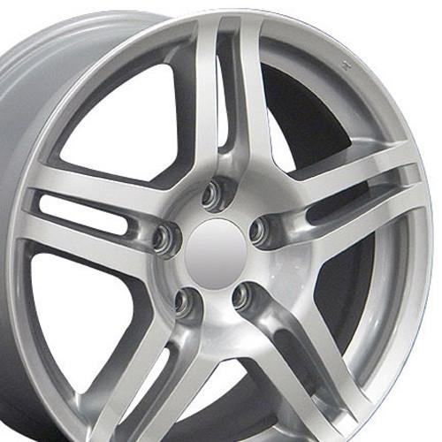Fits Acura TL Wheels Silver Set Of X Rims Hollander - Black acura rims