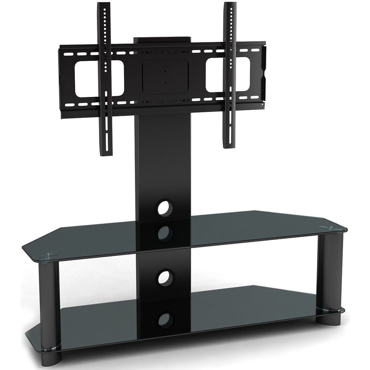 stands wall shelf mounted furniture tv for mount components under shelves