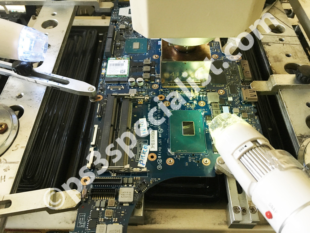Gaming computers and laptops Stand alone and onboard Graphics card Reballing service