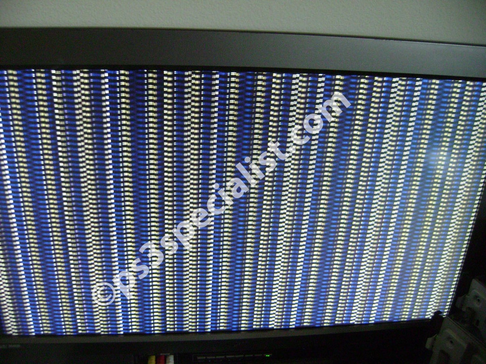 This is the picture from a PS3 before reballing