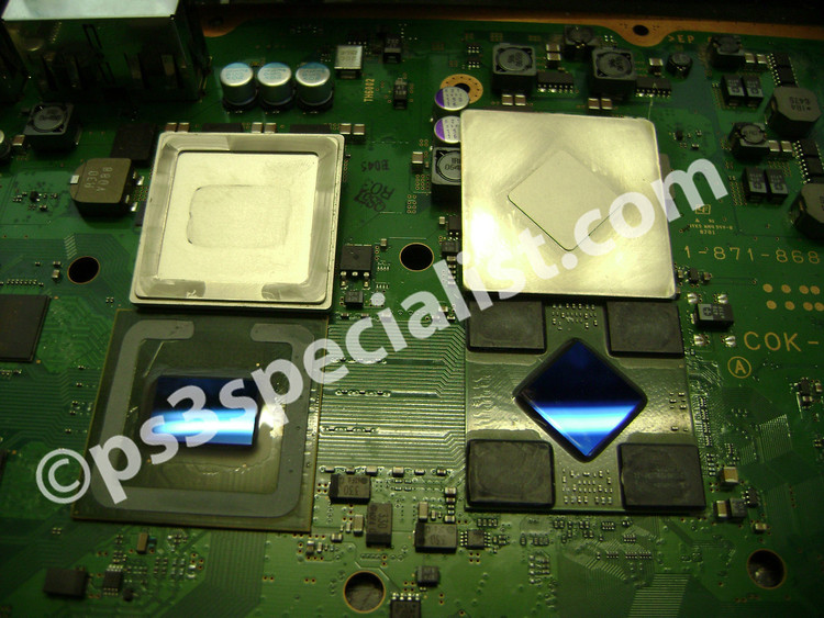 PS3 CPU overheating repair