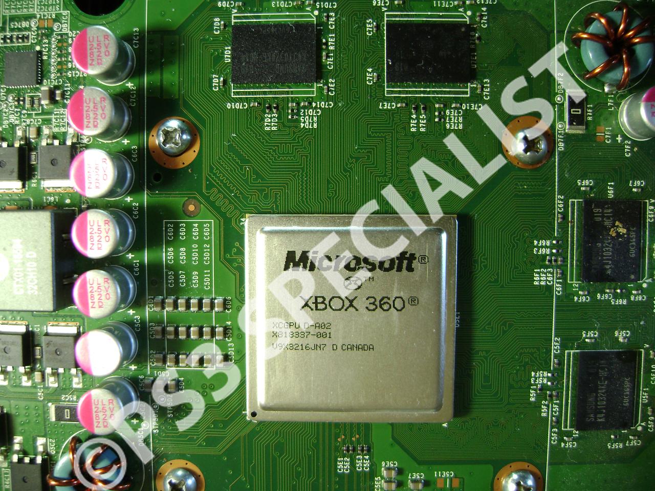 Xbox360 Slim Reballing Repair Service Genius Llc Xbox 360 Motherboard