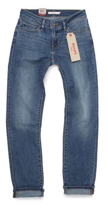 Women's Levi's 712 jeans mid rise slim fit