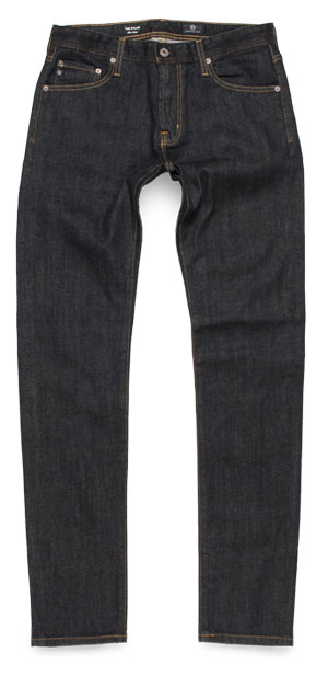 The Dylan slim skinny raw jeans by AG Adriano Goldschmied
