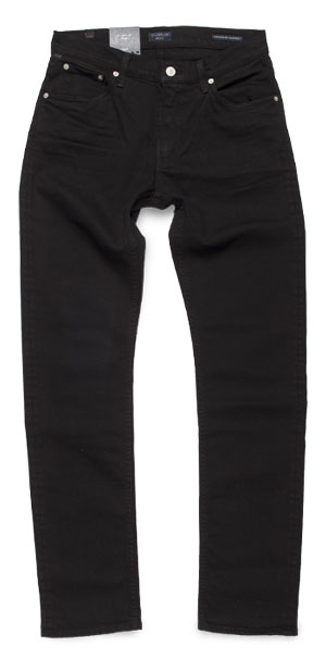 Fit of Citizens of Humanity Bowery slim jeans made in USA