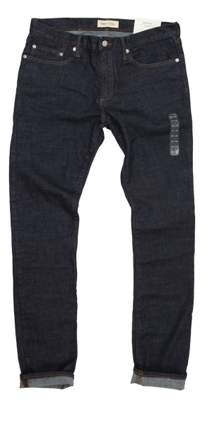 Gap men's skinny jeans raw jeans with stretch