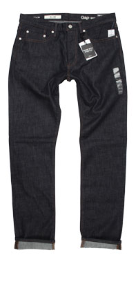 Fit of Gap men's slim fit jeans made in China