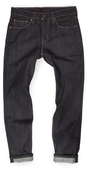 Levi's 511 men's slim fit raw jeans