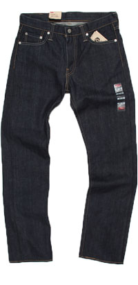 Fit of Levi's 513 men's Slim Straight jeans