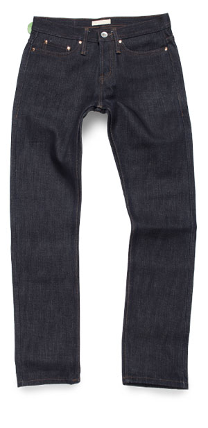 Review Unbranded UB221 Tapered Fit raw jeans measurements
